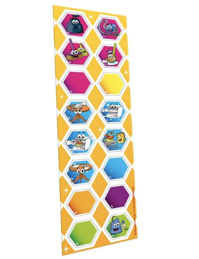 """Planche de Magnets Collectifs. Les """"MISSIONS"""" a effectué pour soi-même."""