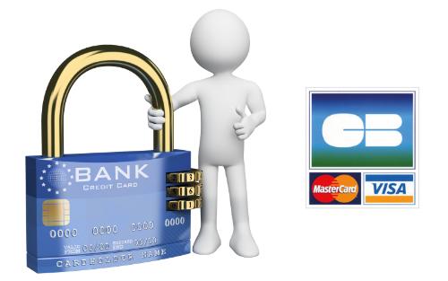 Photo paiement sécurisé - CB - Visa - Mastercard - Site woodysfamily.com