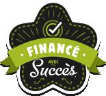 Logo Ulule Financé avec Succès
