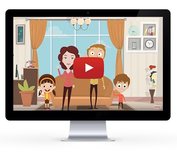 Dessin animé Woody's Family, comment rendre vos enfants autonomes, volontaires et enthousiastes pour faire leurs routines et tâches du quotidien !